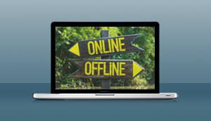 Create your book online or offline
